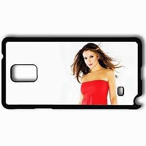 Personalized Samsung Note 4 Cell phone Case/Cover Skin Alyssa Milano Black by icecream design