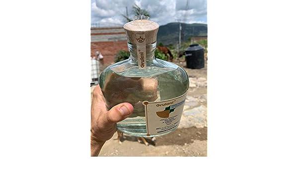 MEZCAL ARTESANAL GRULANI 100% Tobala: Amazon.es: Alimentación y bebidas