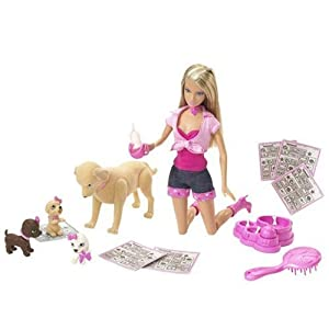 Amazon.com: BARBIE Taffy & Puppies: Toys & Games