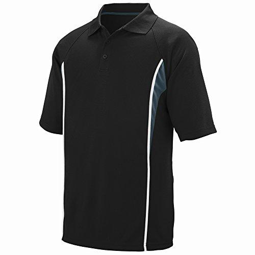 Augusta Sportswear Men's Rival Sport Shirt M Black/Slate/White