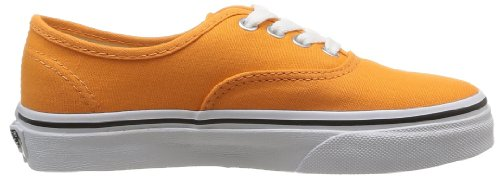 Vans K Authentic, Zapatillas Niño Naranja (Sun Orange/True White)