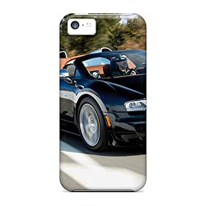 Durable Protector Cases Covers With Bugatti Veyron Grand Vitesse Hot Design For Iphone 5c