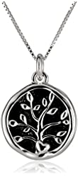 """Sterling Silver and Gold over Sterling Silver """"A Friend May Well Be Reckoned The Masterpiece of Nature-Ralph Waldo Emerson"""" Two Charm Reversible Pendant Necklace, 18"""""""