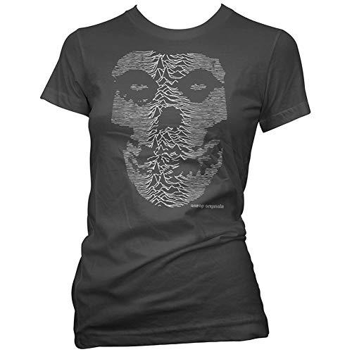 Aesop Originals Women's The Unknown Ghost T-Shirt Black L (Aesop Rock T-shirt)