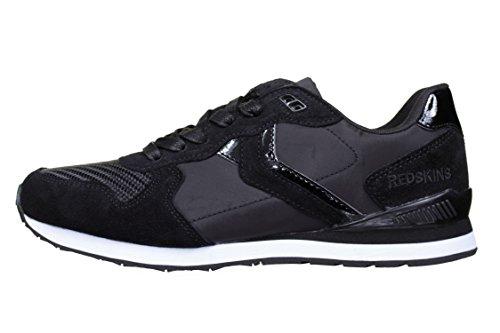Schuhe Redskins Sneaker Leder Jubino schwarz
