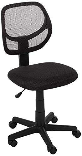 AmazonBasics Low Back Computer Chair (Black)
