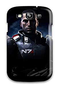 Galaxy High Quality Tpu Case/ Mass Effect MyEzJAV4046swdlH Case Cover For Galaxy S3