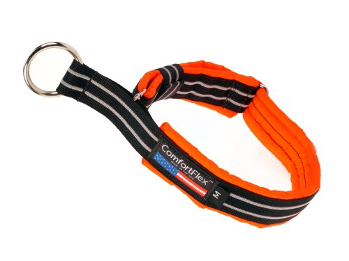 PetPDC ComfortFlex Limited Slip Collar, Large, Hunter Orange