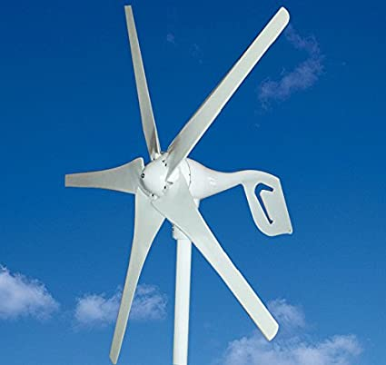 Amazon com : Wind Turbine Generator 5 Blades 400W 12V DC