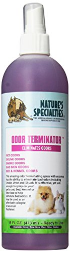 Nature's Specialties Odor Terminator Spray for Pets, 16-Ounce ()