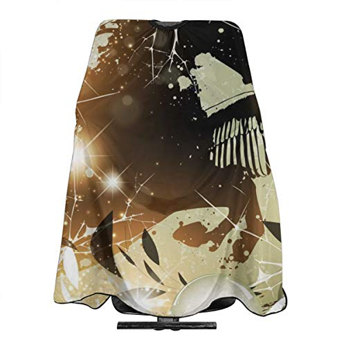 (Hueale Fantasy Nature Horse Flower Personalized Custom Professional Hair Salon Apron, Polyester Hair Shawl 55