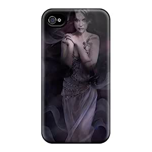 New Style Tpu 4/4s Protective Case Cover/ Iphone Case - Gypsy Girl