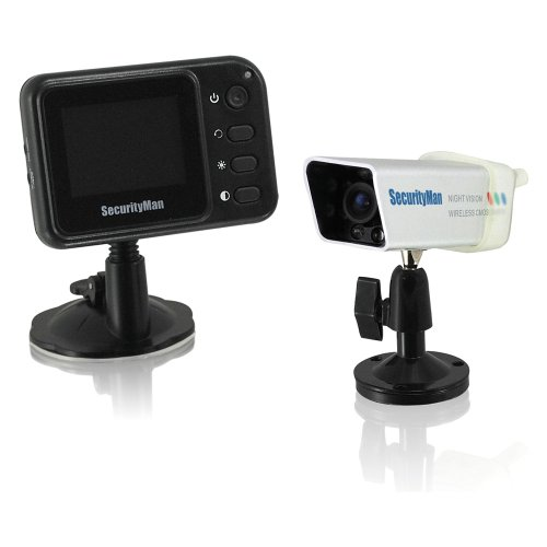 SecurityMan PalmCam Weatherproof Portable Wireless Rearview Camera System by Securityman