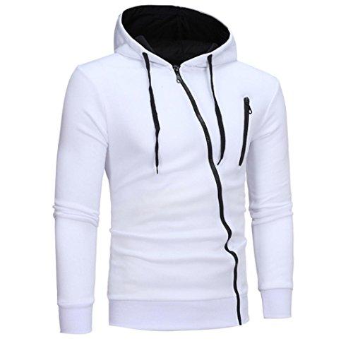 Mens Solid Hoodie ,BeautyVan 2017 New Hot Mens' Fashion Long Sleeve Hoodie Tops Jacket Coat (L2, (Hot Halloween Party Pics)
