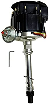 DEMOTOR PERFORMANCE For SBF 260 289 302 V8 Coil Hei Distributor 50000 50K Volt w//Black Cap