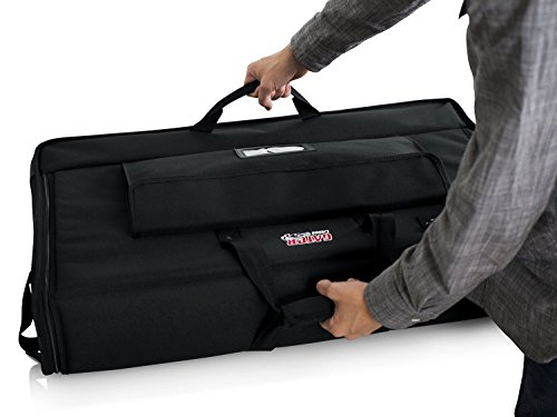 Gator Cases Padded Nylon Carry Tote Bag for Transporting LCD Screens, Monitors and TVs Between 19'' - 24''; (G-LCD-TOTE-SM) by Gator (Image #9)