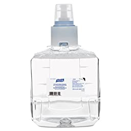 PURELL 1904-02 Advanced Green Certified Hand Sanitizer Refill, 1200 mL, Clear (Pack of 2)