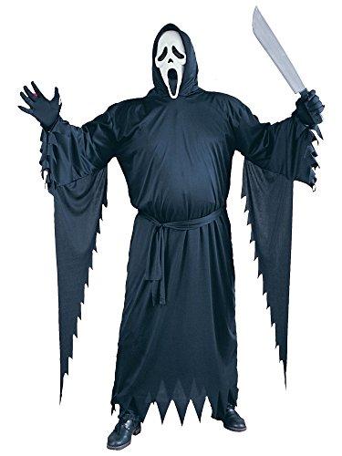 Fun World Costumes Adult Scream Costume, Black, One Size ()