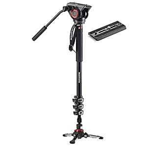 Manfrotto MVM500A Aluminum Fluid Monopod with 500 Head