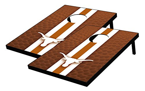 Wild Sports NCAA College Texas Longhorns Tailgate Toss Bean Bag Game Set, Multicolor, One Size