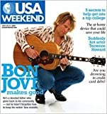 JON BON JOVI magazine cover : USA Weekend [July 29-31, 2005]