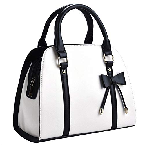 COOFIT Lady Handbag Little Bow Leisure Top-Handle Bags Shoulder Bag Purses and -