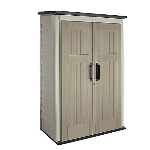 3 ft. x 4 ft. Large Vertical Storage Shed (Shed Garden Rubbermaid)