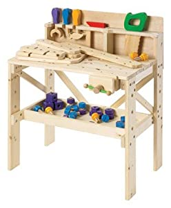 Discovery Kids Wooden Work Bench