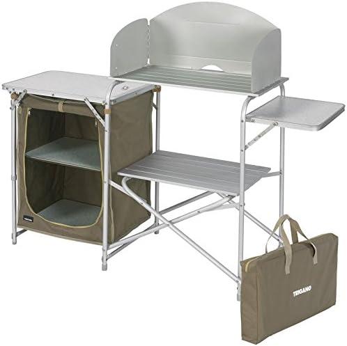 Mueble de cocina con carrito Trigano: Amazon.es: Jardín