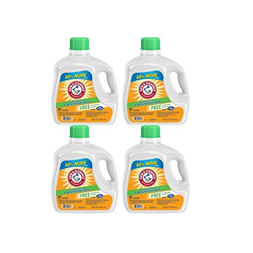 Arm & Hammer Liquid Laundry Detergent for Sensitive Skin, 10