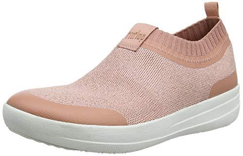 Damen Fitflop Uberknit Slip-on Chaussure De Chaussures Sport Hohe M