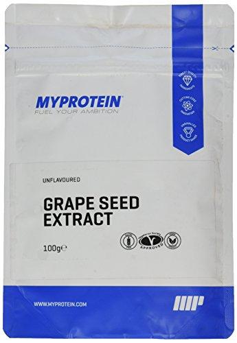 Myprotein Grape Seed Extract 95% OPC (Traubenkernextrakt), 1er Pack (1 x 100 g)