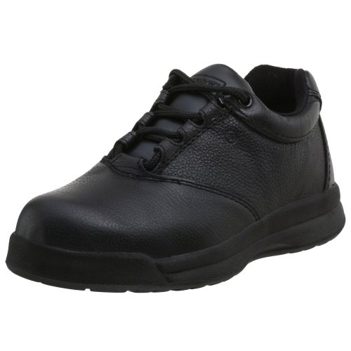 Worx Red Wing Shoes (WORX by Red Wing Shoes Women's 5430 Steel Toe Oxford,Black,9.5 M)