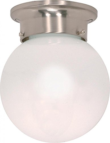 Ball Semi Flush - Nuvo Lighting 60/245 One Light Flush Mount