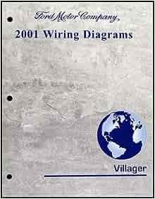 2001 Mercury Villager Wiring Diagram Manual Original ...
