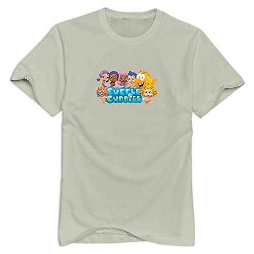 bubble-guppies-crazy-short-sleeve-natural-tees-for-teenagers-size-xl