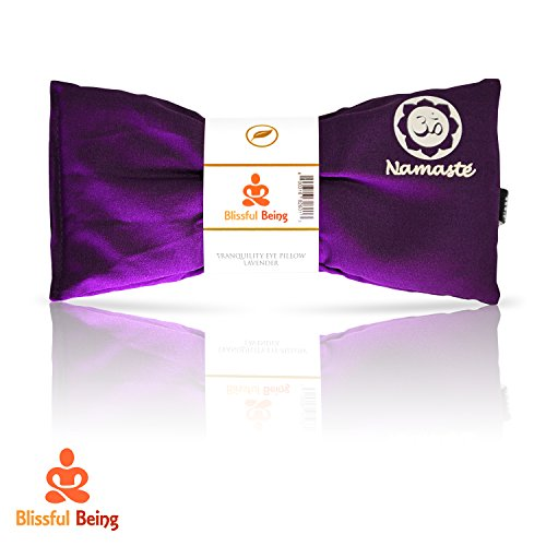 Namaste Yoga Lavender Eye Pillow by Blissful Being - Purple by Blissful Being