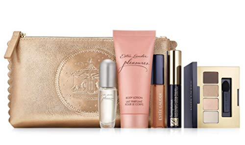 Estee Lauder 6 pc Pleasures Eau de Parfum Purse Spray Travel Set ()
