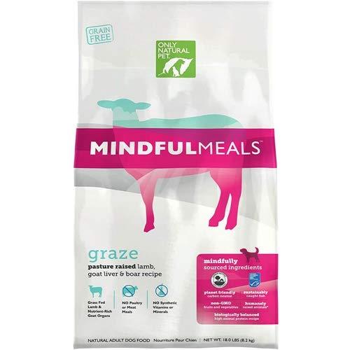 Only Natural Pet MindfulMeals Graze Lamb 18 lb Bag