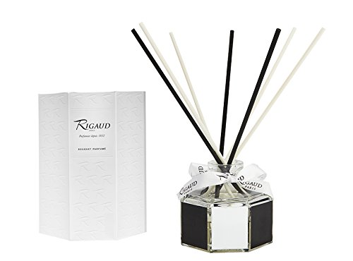 Rigaud Paris, Cypres (Cypress) Home Diffuser with Reed Sticks (Diffuseur d'ambiance), 8.3 Fl Ounces