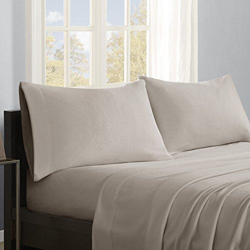 True North by Sleep Philosophy PC20-003 Micro Fleece Sheet Set, Queen