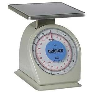 """Rubbermaid Pelouze Heavy-Duty 20lb / 9kg Portion Control Scale (9"""" x 9"""" platform)"""