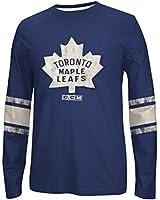 NHL Toronto Maple Leafs Men's Long Sleeve Logo Crew Tee