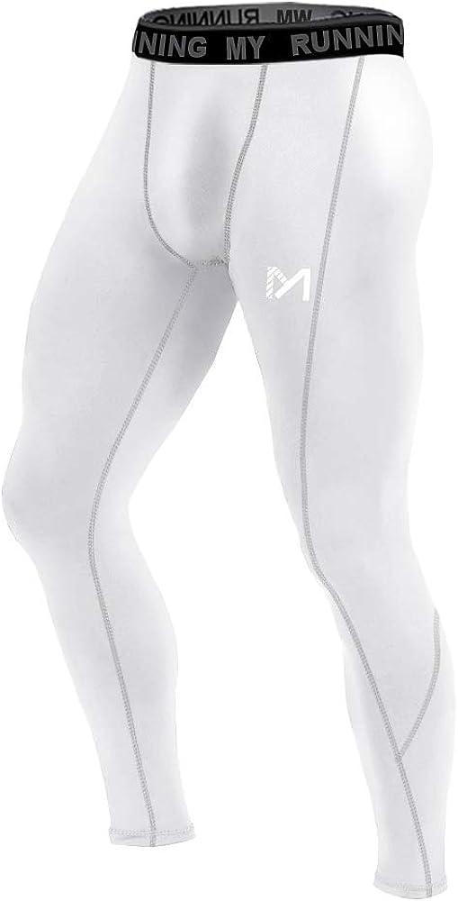 MEETYOO Kompressionshose Herren Sport Leggings Atmungsaktiv Fitness Strumpfhosen Funktionsw/äsche Pants Unterhose Lang f/ür Laufen Wandern Radfahren