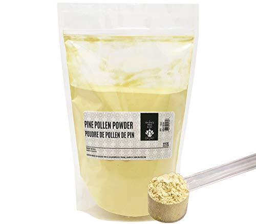 Dinavedic Pure Raw Pine Pollen Powder - 227 g (8 oz) | Traditional Chinese & Korean Medicine, All Natural, Non-GMO, Plant Based Testosterone Supplement (Best Testosterone Booster Canada)
