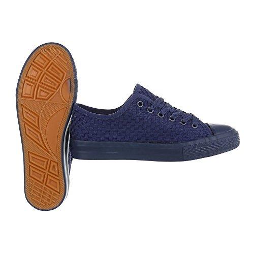 6705 V y De Loisir Chaussures À 339 Baskets Femme Dunkelblau qFC866