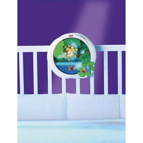 Fisher Price Rainforest Peek-a-Boo Soother, Waterfall Toy...
