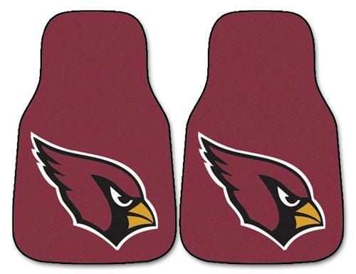 - Arizona Cardinals Printed Carpet Car Mat 2 Piece Set