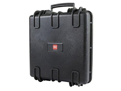 Large Multi Purpose Camera Case (Monoprice Weatherproof Hard Case with Customizable Foam, 14