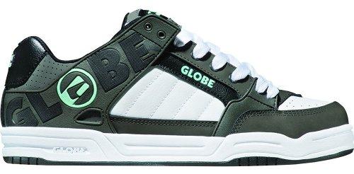 Globe Men's Tilt Skate Shoe,Charcoal/White/Acid Blue TPR,6 M US